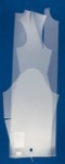Лекало Выкройка-основа платья (блузы) размер 50