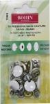 Кнопки для костюмных тканей 14мм, 10шт.(белый)