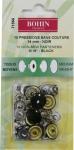 Кнопки для костюмных тканей 14мм, 10шт.(черный)