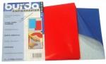 Копировальная бумага с односторонним покрытием 83см*57см (2шт) синяя/красная