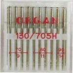 Иглы Organ стандартные №70(4),80(4),90(2), 10шт.
