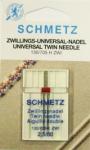 Иглы стандартные двойные 130/705H ZWI № 80/2.5, 1 шт.