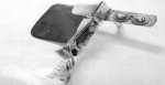 Приспособление для втачивания канта со шнуром на оверлоке KHF-60