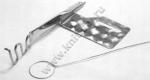 Приспособление для изготовления шлевок, бретель, поясов KHF-50