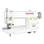 Прямострочная промышленная швейная машина с ножом обрезки края материала GOLDEN WHEEL CS-5200