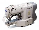 Электронная закрепочная машина программируемой строчки Brother KE-430FX с устройством для быстрой смены рабочего зажима