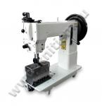 Колонковая двухигольная швейная машина для сверхтяжелых материалов A-262 Aurora