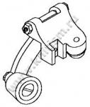 Лапка-ролик резиновый 12264 RS, 12265 RM, 12267 RL