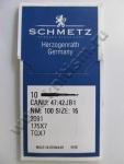 Швейная игла SCHMETZ DYx3 (794) LR для кожи
