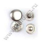 Кнопка стальная L-12 никель