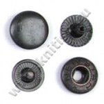 Кнопка стальная L-12 оксид