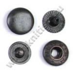 Кнопка стальная L-15 оксид