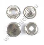 Кнопка стальная №61 никель