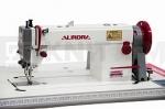 Прямострочная промышленная швейная машина с шагающей лапкой Aurora A-0302
