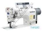 Двухигольная промышленная швейная машина T-8722C Brother