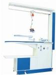 Промышленный гладильный стол с парогенератором, утюгом, каминной вытяжкой, освещением, балансиром и подвесом HASEL HSL-KBBP-20D