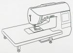 Столик приставной WT7 для работы с крупными изделиями