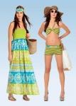 Выкройка BURDA - Женская коллекция (пляжная мода)