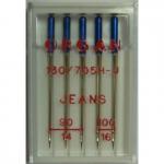 Иглы Organ джинс №90(3),100(2), 5шт.