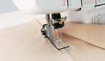 Лапка SA226 для плоскошовной машины (отделочных строчек)