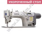 Прямострочная швейная машина Brother S-7000DD-405 с прямым приводом и электронными функциями и укороченным столом