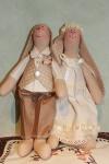 """Зайки """"Жених и невеста"""""""